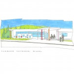 Montessori School - marketing sketch