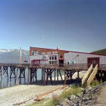 Haines Terminal from shore close