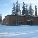 Photo of Geraldo's - Fairbanks, AK, United States. Inside Gersldo's looking  in salad