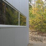 Switchback House - siding and windows