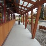 The walkway
